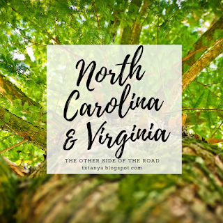 North Carolina and Virginia