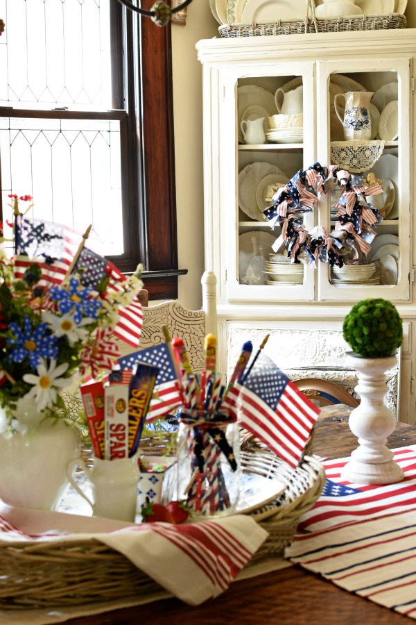 Flag Day inspiration on table