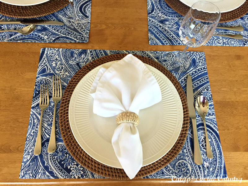 First Day of Summer Table Setting