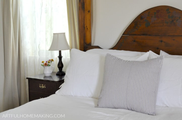 summer whites bedding