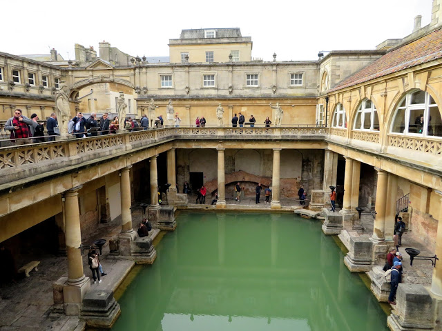 Roman Baths in England