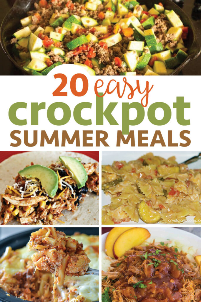 Easy Crockpot Summer Meals