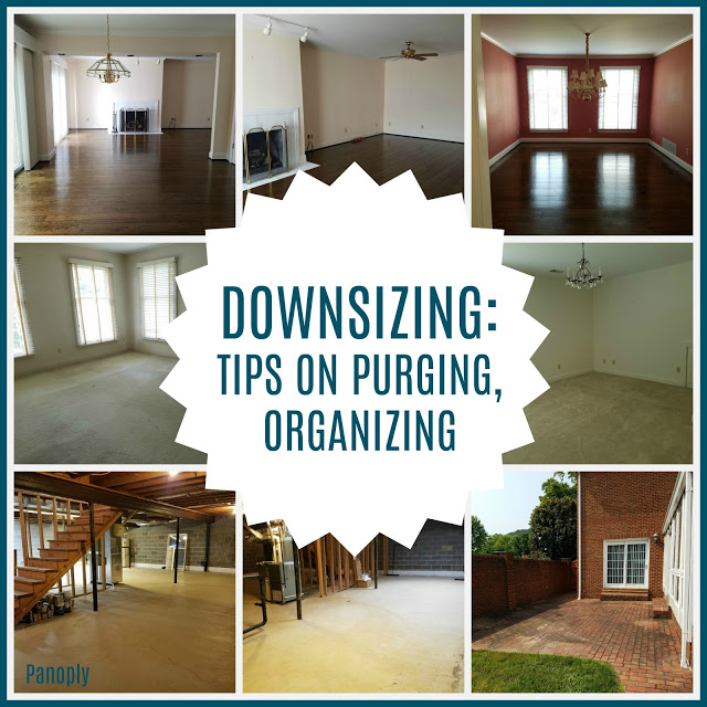 Downsizing Tips on Purging and Organizing