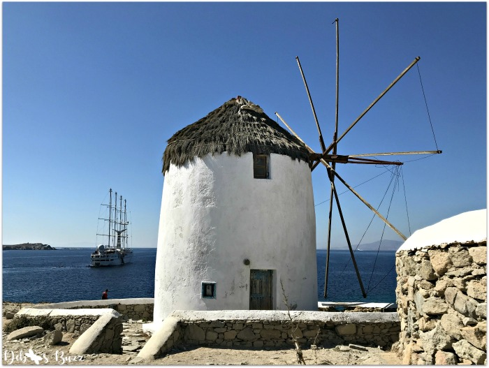 Windmill in Greek Islands