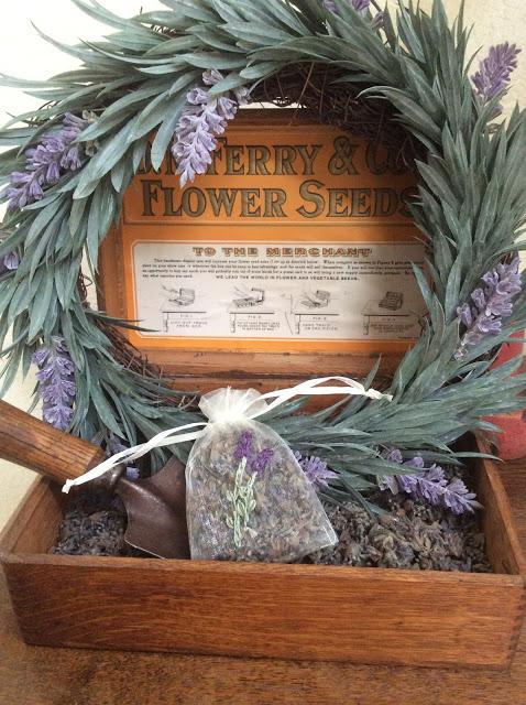 Fall Lavender Sachet