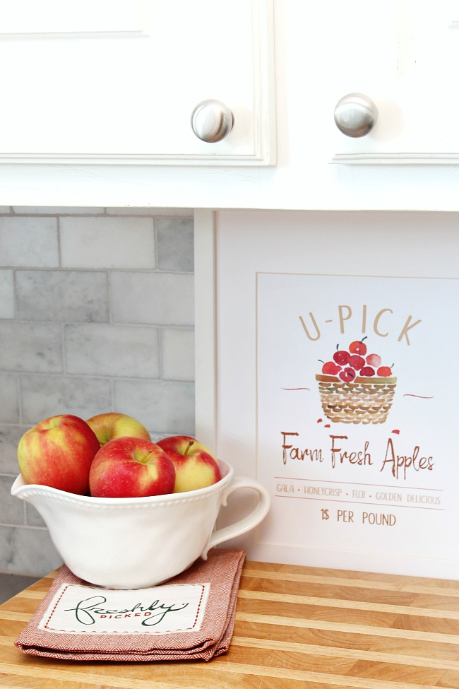 Apple Printable - Preparing For Fall