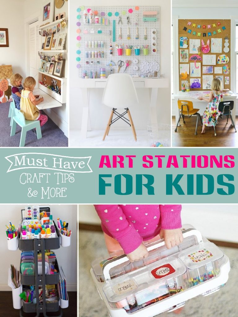 art stations for kids