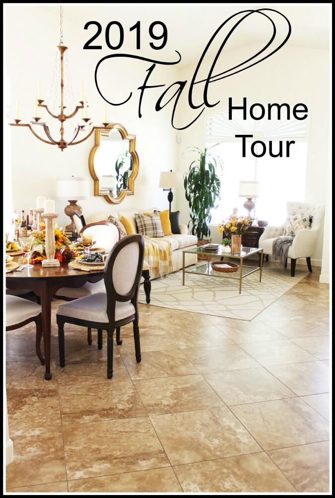 Fall Home Tour - Falling for Fall