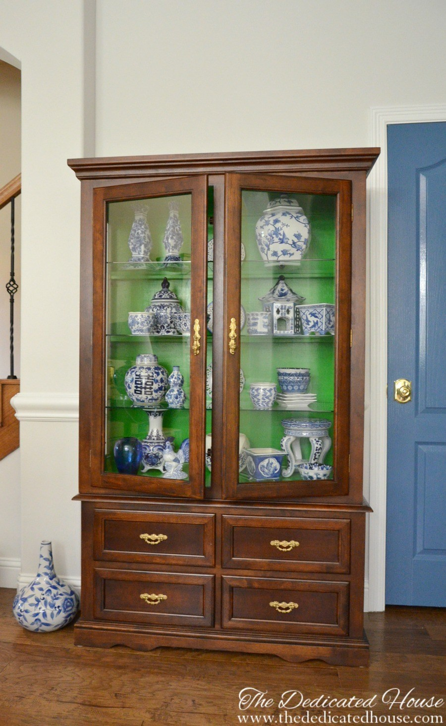 China Hutch Makeover feature