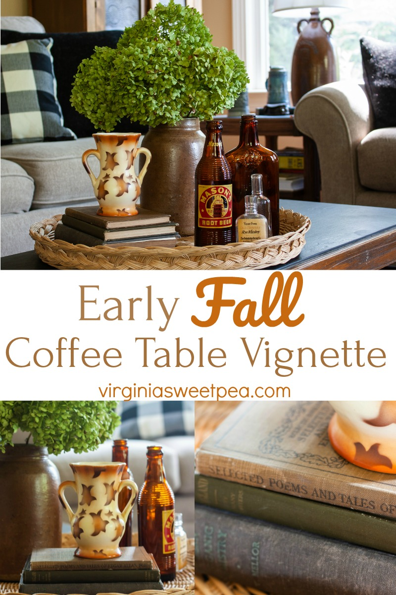 Early Fall coffee table - September decor
