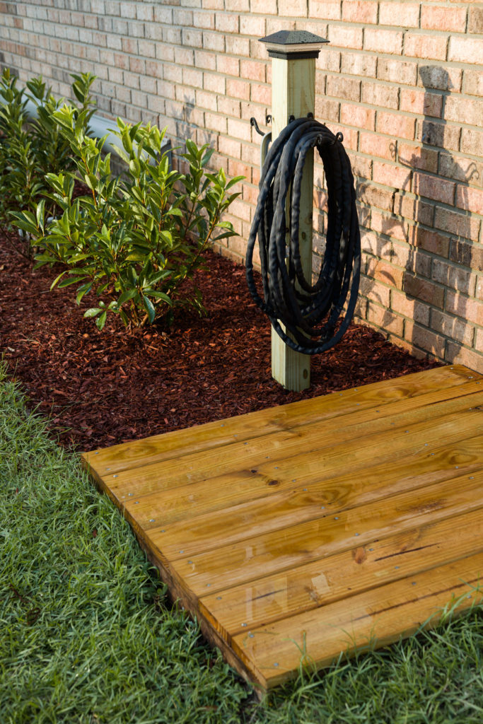 Garden Floating Deck September feature