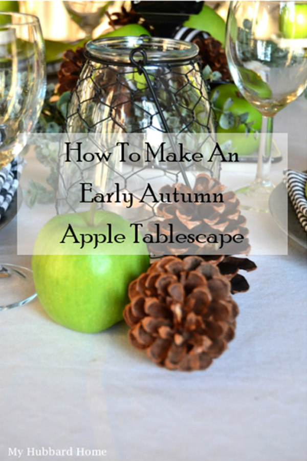 apple tablescape