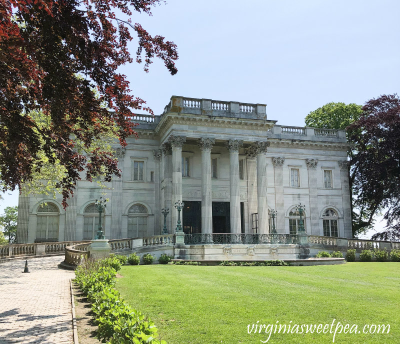Marble House, Newport RI from Sweet Pea blog