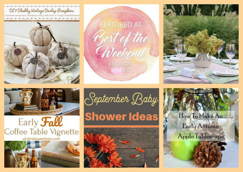 September decor and more