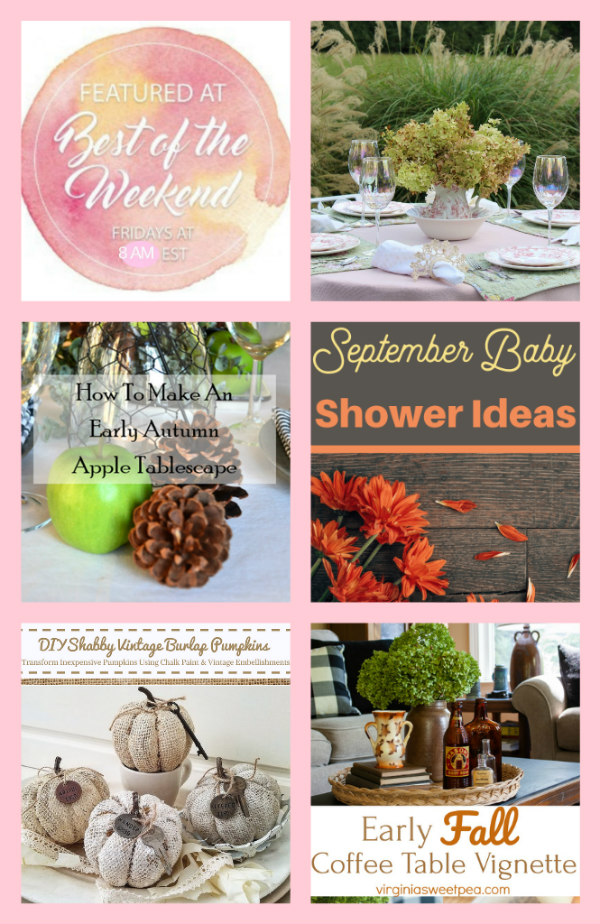 September decor and inspiration