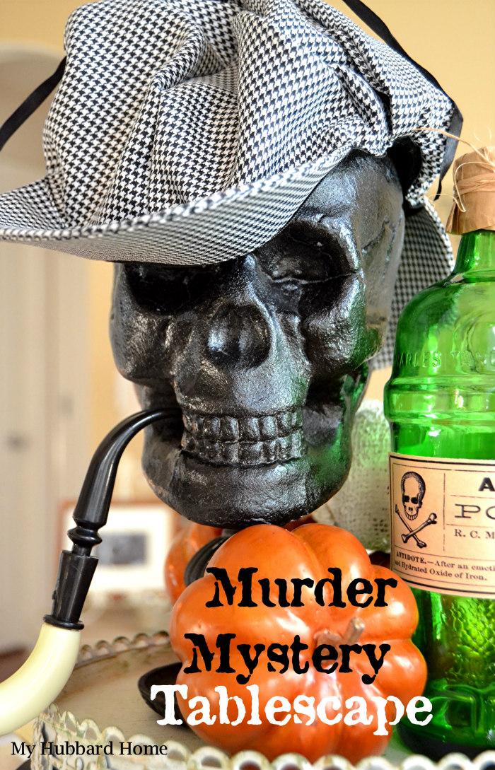 Halloween Table - My Hubbard Home
