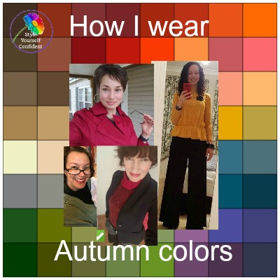 How I Wear Autumn Colors - Fall Colors Feature