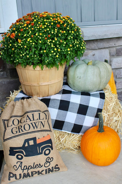 fall decor feature