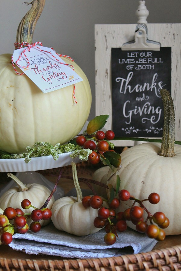 Thanksgiving Printables - give thanks and dont' forget Thanksgiving