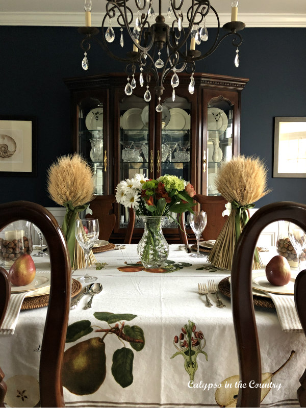 formal thanksgiving table