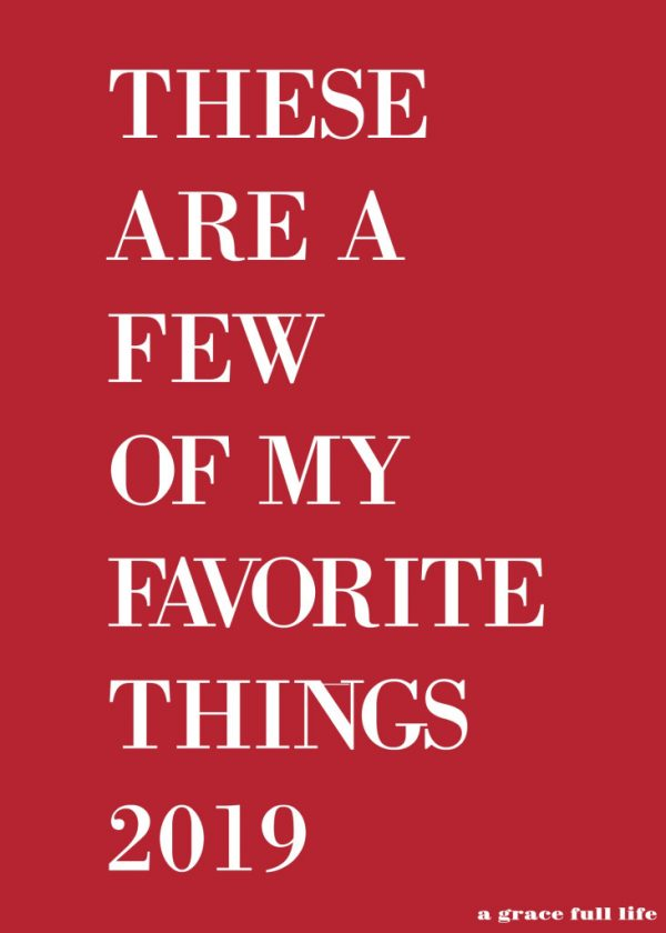 favorite things feature