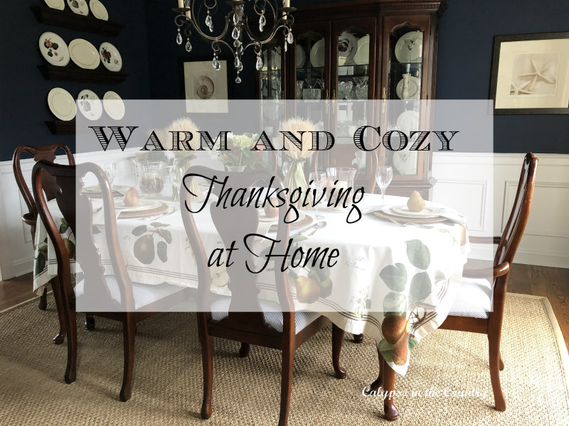 Warm and Cozy Thanksgiving at Home