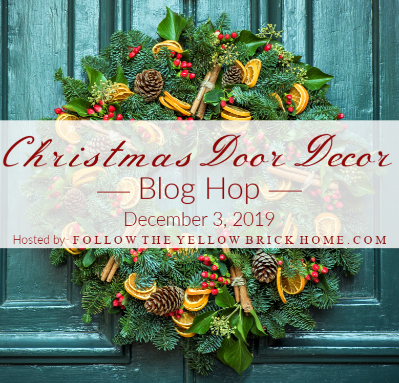 Christmas Door Decor Blog hop