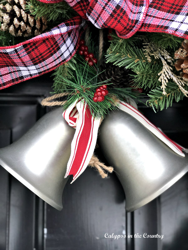 simple holiday decor - bells