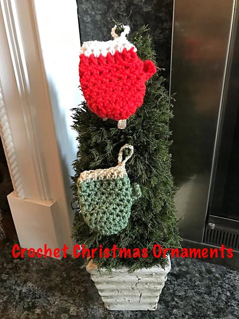 mitten ornament