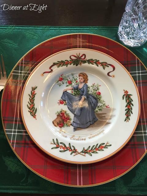 Christmas Dinner Plates