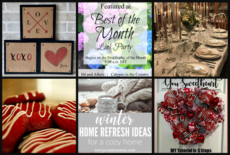 Best of the Month Link Party – February 2020