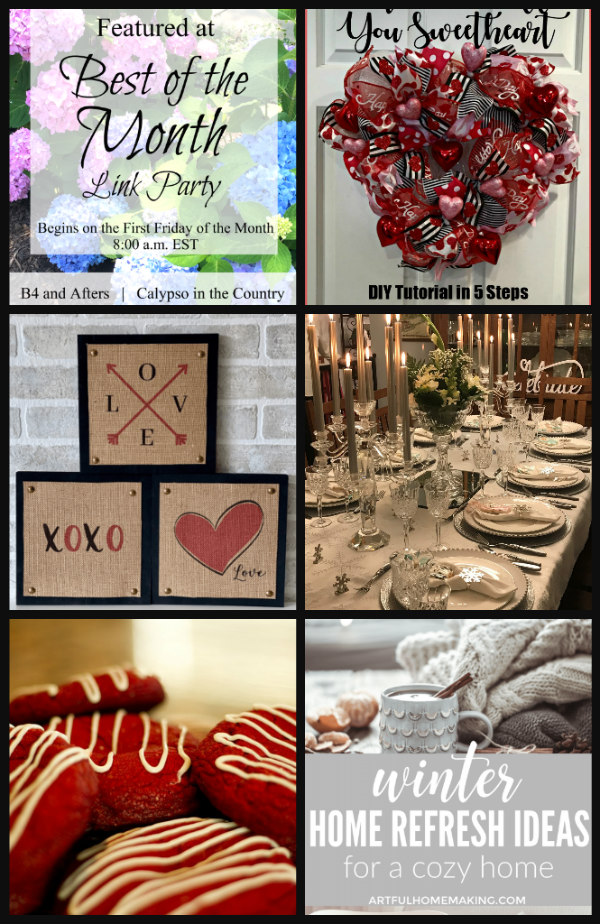 best of the month link party February 2020