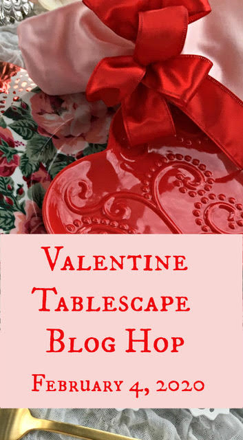 Valentine Tablescape Ideas Blog Hop