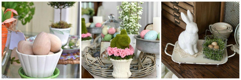 spring ideas tour tablescapes