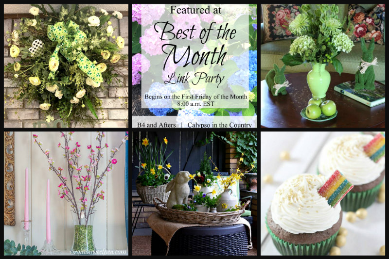 best of the month link party