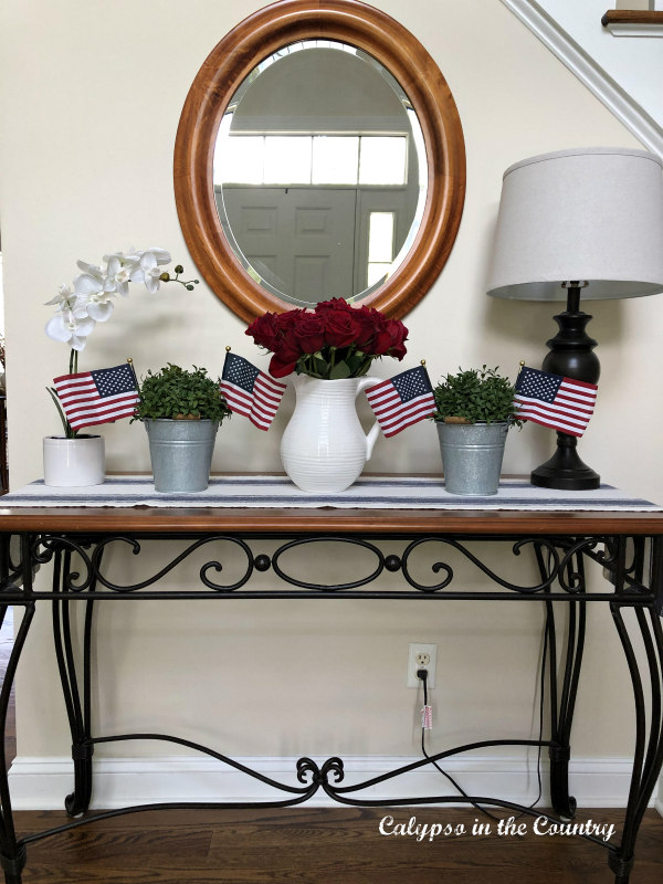 4th of july decorating ideas for the foyer