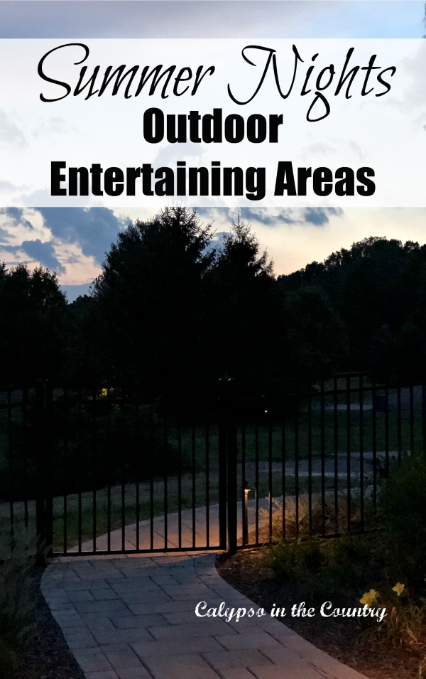 Summer Nights - Outdoor Entertaining Areas