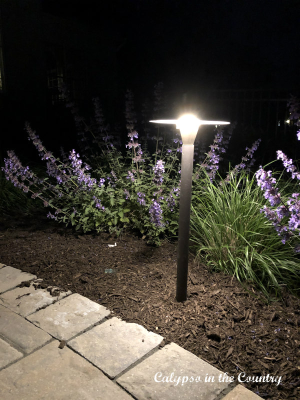 garden path lighting and patio entertaining