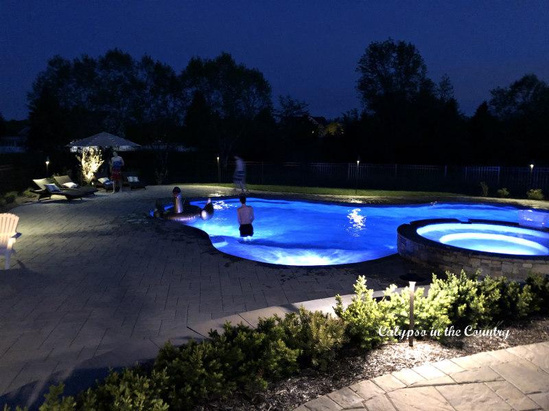 Summer Entertaining Ideas - Pool Lights