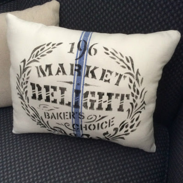 Kitchen Towel Pillows - stay at home crafts