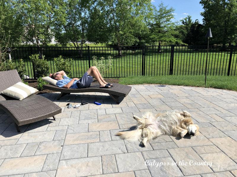 Lying in the Sun - Simple Pleasures in Life