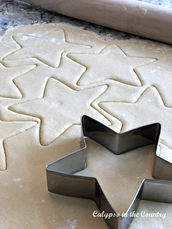 Star cookie cutter - decorating for the 4th of July