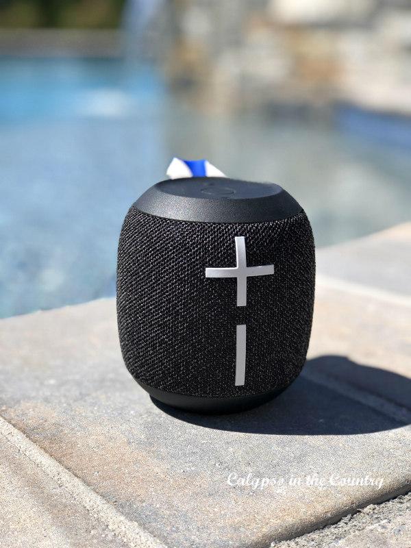Portable speaker for outdoor entertaining