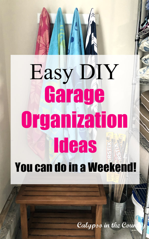 Garage Organization - How to Make the Most of Your Storage Space