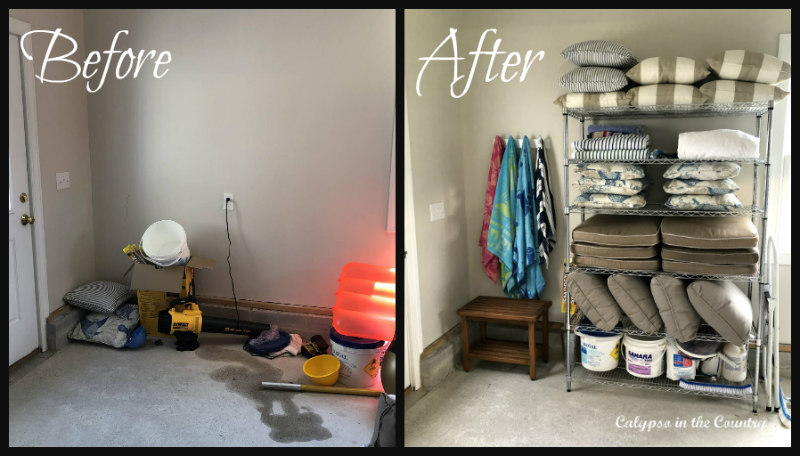 Before and After - Garage Organization - How to Make the Most of Your Storage Space