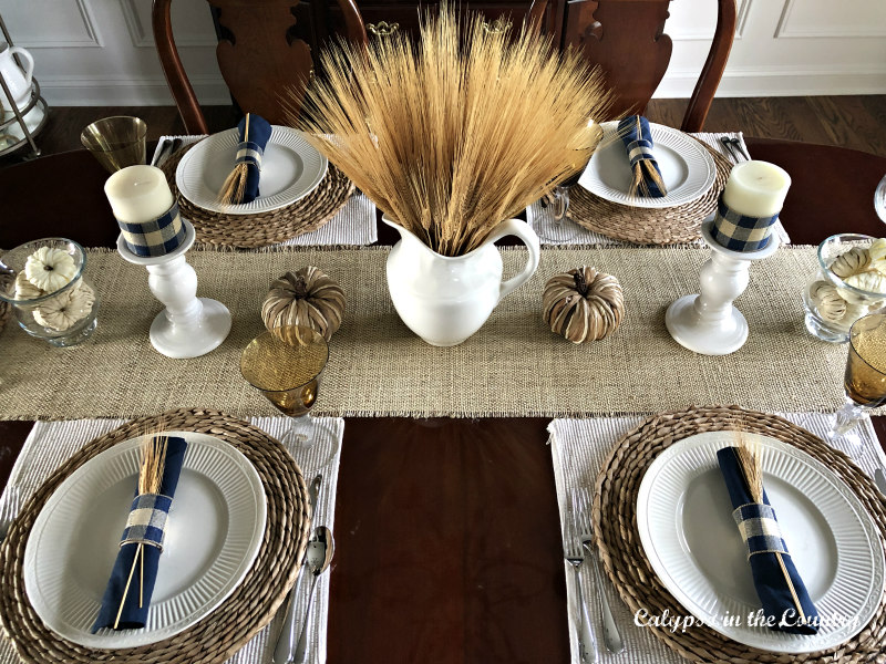 Autumn Table Setting Ideas for the Dining Room