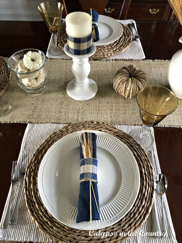 Autumn Place Settings
