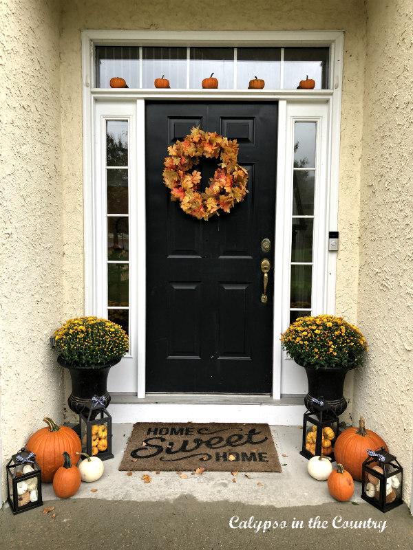 Autumn Porch Decor - Simple and Festive Ideas