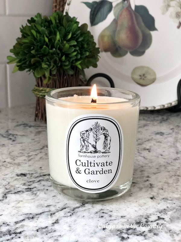 Clove Candle from Farmhouse Pottery - Cozy Shopping Finds