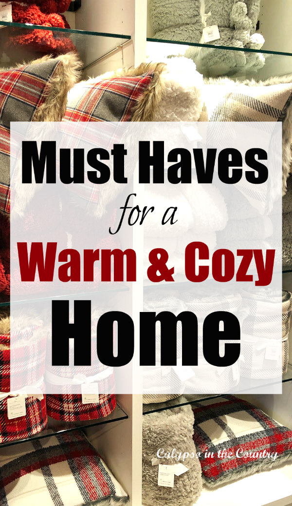 Must Haves for a Warm and Cozy Home - Cozy Shopping Finds